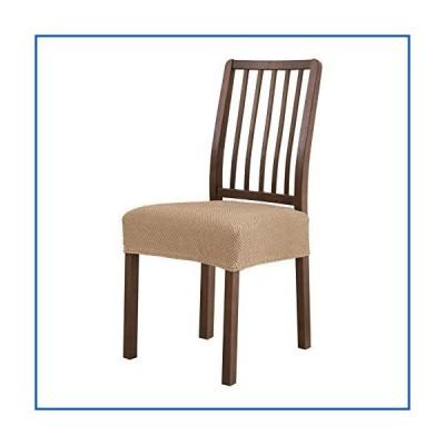【新品】subrtex Dining Room Chair Seat Covers Stretch Chair Seat Cushion Slipcovers Furniture Protector Set of 2 Removable Washable for