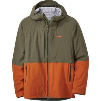 アウトドアリサーチ メンズ ジャケット・ブルゾン アウター Outdoor Research Men's Carbide Jacket Fatigue / Umber