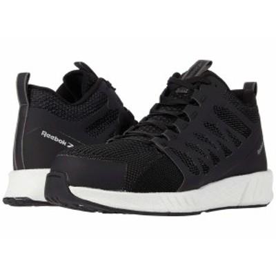 リーボック メンズ スニーカー シューズ Fusion Flexweave Work Composite Toe Black/White