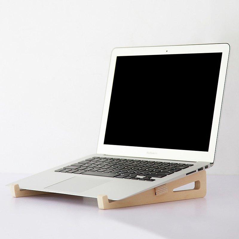 木質組合筆電架 ─ 居家辦公小物 送禮包裝 加購刻字