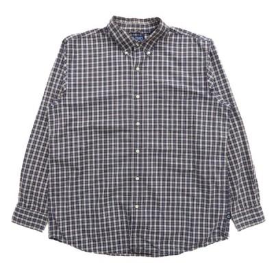 チャップス CHAPS ボタンダウンシャツ 長袖 チェック マルチカラー サイズ表記:XL