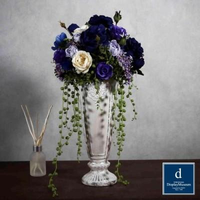フラワーアレンジメント (ローズ) 横浜ディスプレイミュージアム FBCD-2041 アーティフィシャルフラワー 造花 アレンジメント