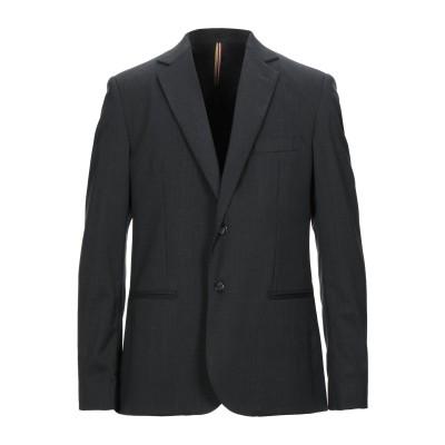 LOW BRAND テーラードジャケット スチールグレー 3 コットン 80% / ナイロン 20% テーラードジャケット