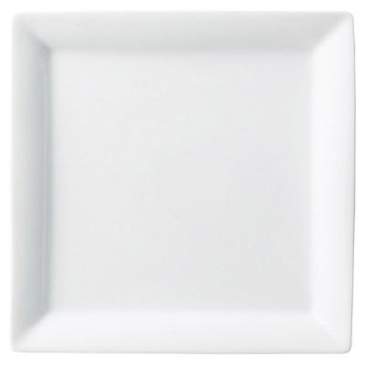 業務用食器 フォンテ24�スクエアープレート 24.3×24.3×2.9�