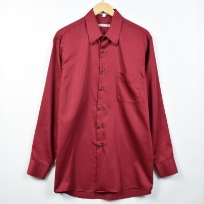 GEOFFREY BEENE 長袖 カラードレスシャツ メンズL /eaa026685