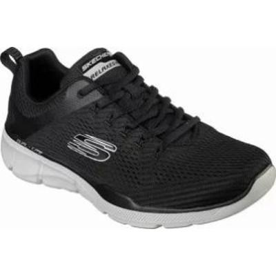 Skechers メンズスニーカー Skechers Relaxed Fit Equalizer 30 Sneaker Black/Gra