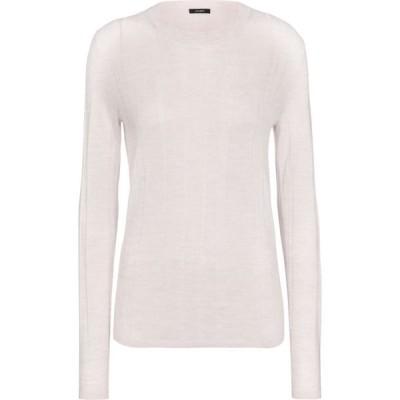 ジョゼフ Joseph レディース ニット・セーター トップス merino wool-blend sweater Chalk