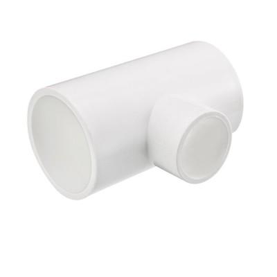 uxcell パイプ 継手 4mm x 4mmx 25mm スリップ 減量 ティー PVC パイプ 継手 T型 コネクター 2個入り