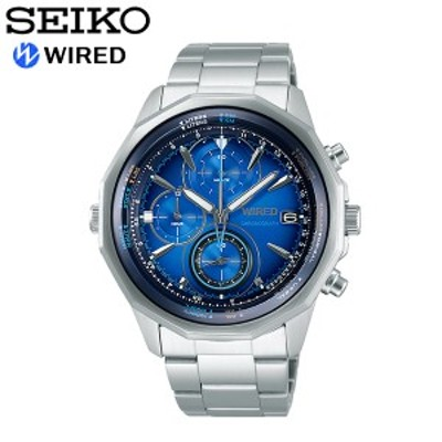 seiko WIRED セイコー ワイアード 腕時計 ウォッチ メンズ 男性用 クオーツ 10気圧防水 ザ・ブルー agaw439