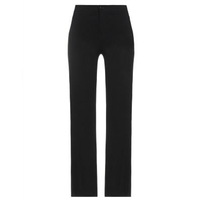 VICOLO パンツ ブラック S レーヨン 75% / ナイロン 20% / ポリウレタン 5% パンツ