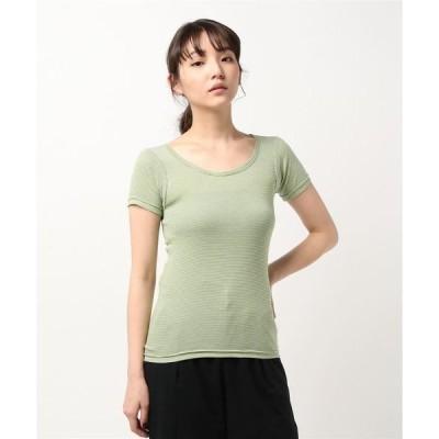 tシャツ Tシャツ Saintete/サンテテ S/S BORDER/ショートスリーブ ボーダー【日本製】