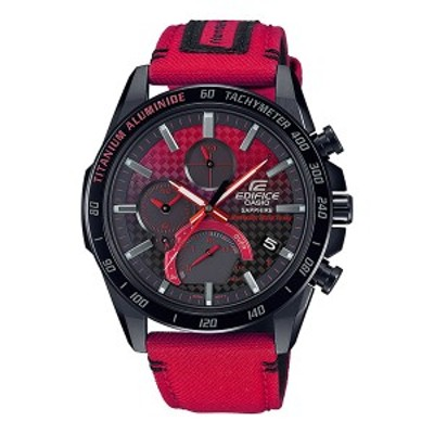 【正規品】CASIO カシオ 腕時計 EQB-1000HRS-1AJR メンズ EDIFICE エディフィス Honda Racing コラボモデル クロノグラフ Bluetooth