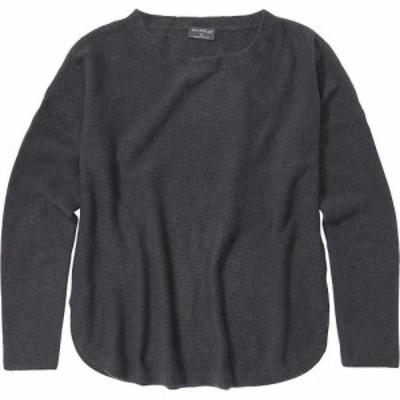 エクスオフィシオ ExOfficio レディース ニット・セーター トップス Pontedera Bateau Neck Sweater Dark Steel Heather