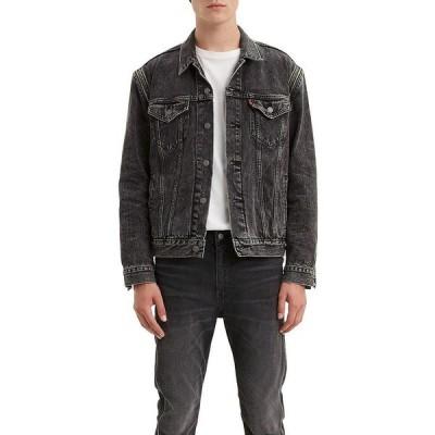 リーバイス メンズ ジャケット&ブルゾン アウター Levi's The Trucker Zip Off Sleeves Denim Jacket Pack Out