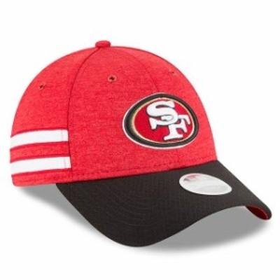 New Era ニュー エラ スポーツ用品  New Era San Francisco 49ers Womens Scarlet/Black 2018 NFL Sideline Home 9FORTY Adju