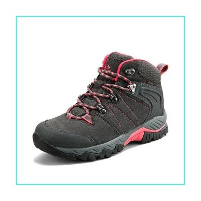 【新品】Clorts Women's Hiking Camping Boots Waterproof Breathable High-Traction Grip Backpacking Hiker Shoes HKM-822B US 9 Grey(並