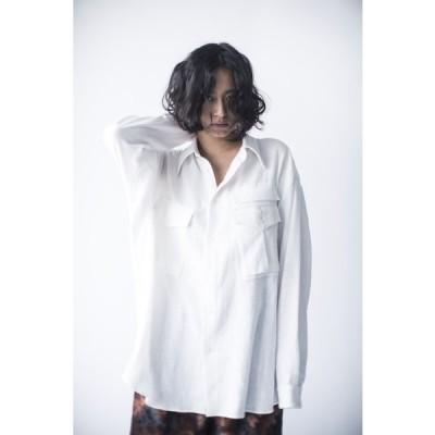 hs20SSIR03  ワイドシャツA ホワイト ヒュリス