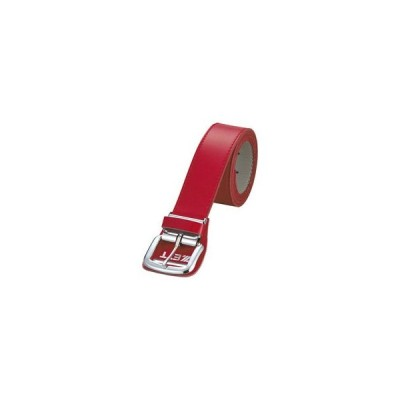 ZETT/ゼット  BX93-6400 メンズ用ベルト(つや消し) (レッド)