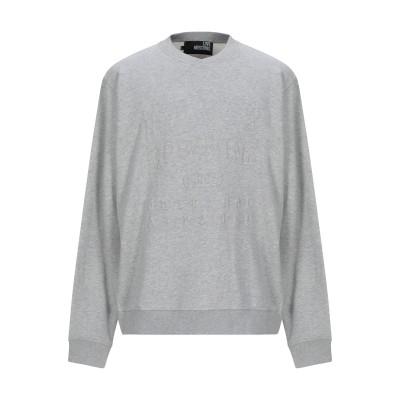 ラブ モスキーノ LOVE MOSCHINO スウェットシャツ グレー S コットン 100% スウェットシャツ