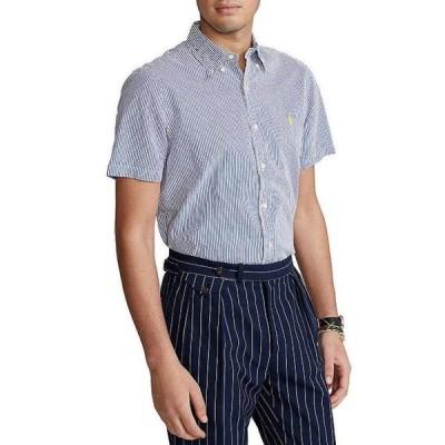 ラルフローレン メンズ シャツ トップス Seersucker Short-Sleeve Woven Shirt