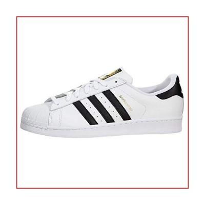 adidas Originals Men's Superstar Running Shoe, Black/White, 7.5 M US【並行輸入品】