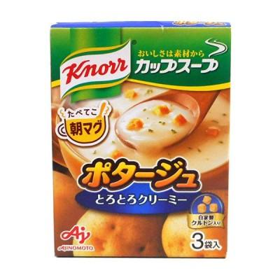 ★まとめ買い★ 味の素(株) クノールカップスープ ポタージュ 3袋 ×10個【イージャパンモール】