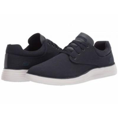 SKECHERS スケッチャーズ メンズ 男性用 シューズ 靴 スニーカー 運動靴 Status 2.0 Burbank Navy【送料無料】