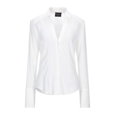 アトス ロンバルディーニ ATOS LOMBARDINI シャツ ホワイト 38 レーヨン 94% / ポリウレタン 6% シャツ
