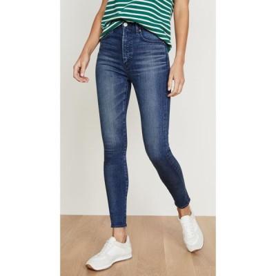 マウジー MOUSSY VINTAGE レディース ジーンズ・デニム スキニー ボトムス・パンツ Willows Rebirth Skinny Jeans Blue