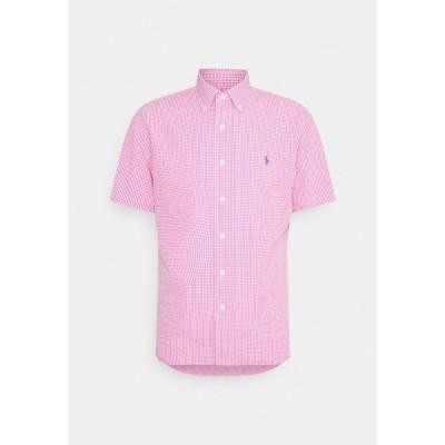 ラルフローレン シャツ メンズ トップス Shirt - pink/white