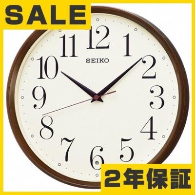 セイコー(SEIKO) 掛け時計 壁掛け 電波時計 KX222B アナログ スイープ おしゃれ
