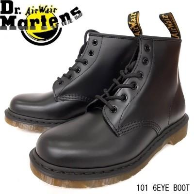 ドクターマーチン ブラック 靴 レディース 101 6EYE 10064001