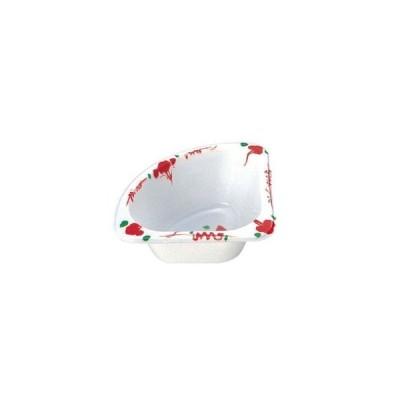 プラカップ 赤絵 三角コーナー TZ-2(500枚入)【 厨房消耗品 】