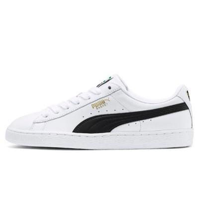 PUMA Basket Classic LFS Shoes-White/Black 35436722(1801)
