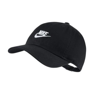ナイキ NIKE ジュニア 帽子 ナイキ YTH H86 フューチュラ キャップ AJ3651-010 ブラック/(ホワイト)