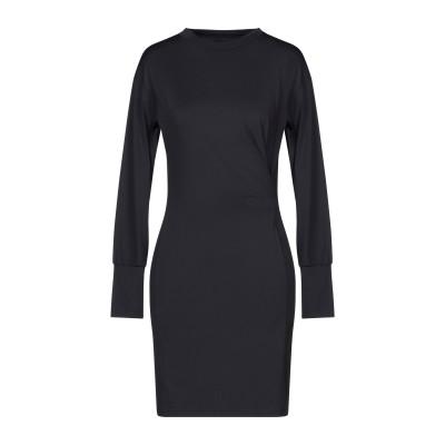 メルシー ..,MERCI ミニワンピース&ドレス ブラック XS ナイロン 87% / ポリウレタン 13% ミニワンピース&ドレス