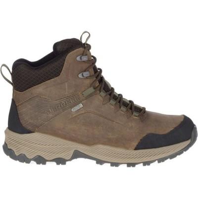 メレル Merrell メンズ ハイキング・登山 ブーツ シューズ・靴 Forestbound Mid Waterproof Hiking Boots Cloudy