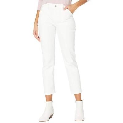 ユニセックス パンツ Brigitte w/ Fashion Patch Pockets in Crisp White