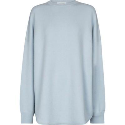 エクストリーム カシミア Extreme Cashmere レディース ニット・セーター トップス N 53 Crew Hop cashmere-bleN sweater Jade