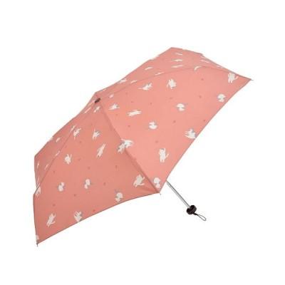 【バックヤードファミリー】 ニフティーカラーズ minicase3 ミニケース コンパクトケース レディース ピンク系1 折りたたみ傘 BACKYARD FAMILY