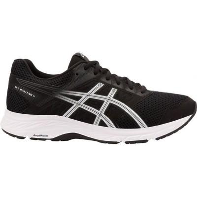 アシックス ASICS メンズ ランニング・ウォーキング シューズ・靴 GEL-Contend 5 Running Shoes Black/White