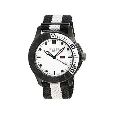 Gucci Watches Men's City Watch (White)