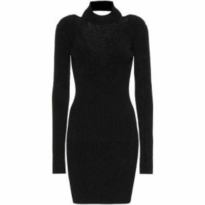 ヘルムート ラング Helmut Lang レディース ワンピース ワンピース・ドレス Jersey dress Black