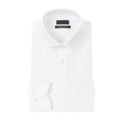 ワイドカラースタイリッシュワイシャツ【プレミアム】