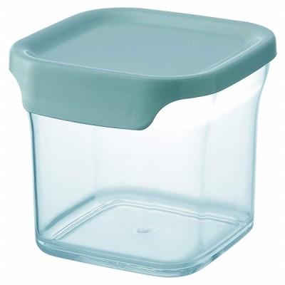 リス リベラリスタ キャニスター レギュラー スカイブルー 調味料入れ 保存容器 タッパー クリアケース  軽量  中身 が 見える   調味料 保管 湿気 防止 かわい