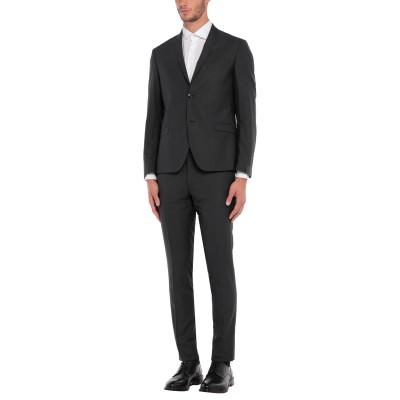 アレッサンドロデラクア ALESSANDRO DELL'ACQUA スーツ スチールグレー 52 ポリエステル 82% / レーヨン 15% / ポ