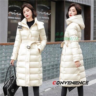 中綿ジャケット レディース 中綿ダウンジャケット 中綿入り ロングジャケット アウター 防寒 カジュアル フード付き 中綿コート 大きいサイズ 暖かい