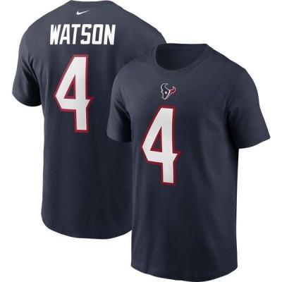 ナイキ Nike メンズ Tシャツ トップス Houston Texans Deshaun Watson Legend #4 Navy T-Shirt