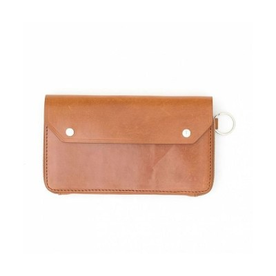 (AS2OV/アッソブ)AS2OV / アッソブ OILED ANTIEQUE LONG WALLET-CAMEL/ユニセックス キャメル