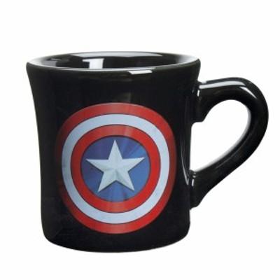 MARVEL(マーベル) 「 キャプテンアメリカ 」 マグカップ 260ml ブラック SAN2607
